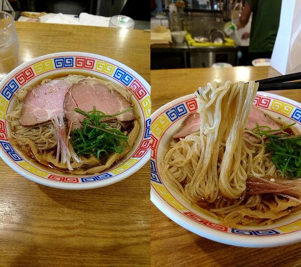 「『醤油ラーメン(冷)大盛(¥750)』を山椒油&茗荷トッピで」@ROOSTERの写真