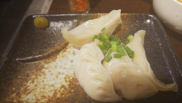 「ゆで餃子」@麺酒房  龍安の写真
