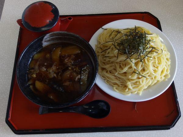 「肉ナスつけ麺」@玉も亭 岩槻店の写真