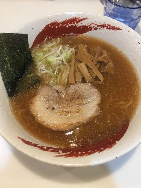「煮干しラーメン」@麺や 桜木の写真