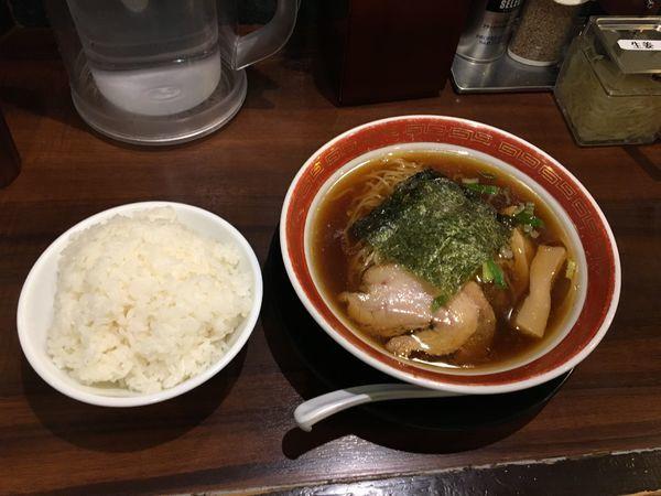 「中華そば 690円」@麺家 徳 アトレ川崎店の写真