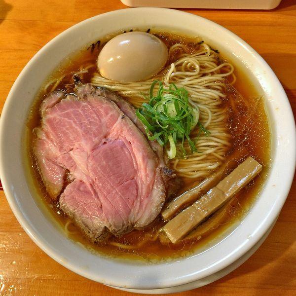 「出汁醤油煮玉子(中盛)¥940」@麺庵ちとせの写真
