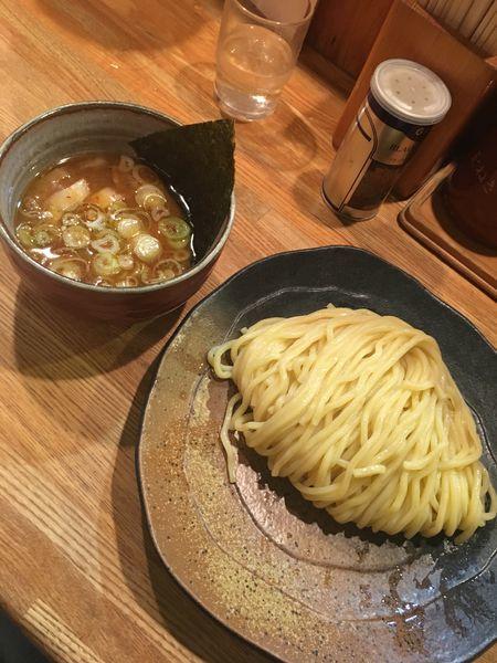 「つけ麺(中盛り330g)」@つけ麺屋 やすべえ 池袋店の写真