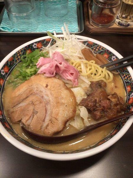 「極上味噌麺豪華盛り980円」@味噌麺処 櫻の写真