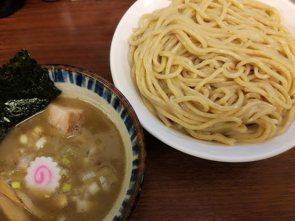 「煮番搾り(大盛)」@つけめん 三三㐂の写真