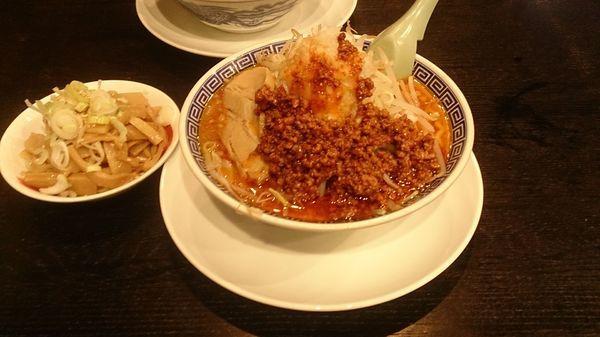 「味噌魂麺850円+メンマ150円」@東池袋大勝軒 うさぎ家の写真