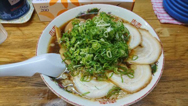 「チャーシュー麺+煮玉子¥900+120」@三公の写真