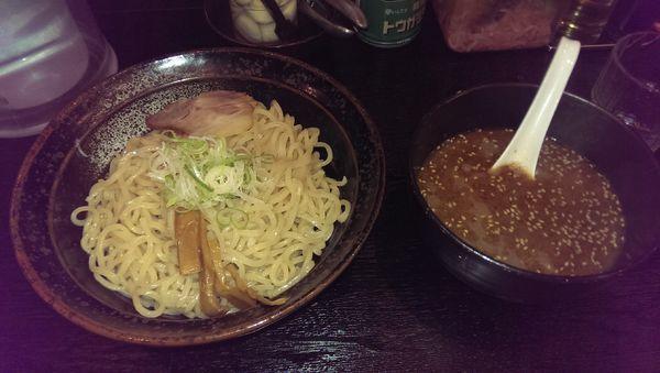 「つけめん、麺増し」@らーめん 喜丸の写真