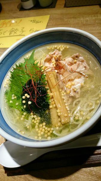 「冷たい塩らーめん   800円」@麺や Co粋の写真