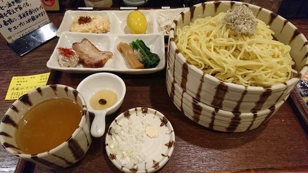 「特選塩つけそば(1000円)」@焙煎汐蕎麦処 金字塔の写真