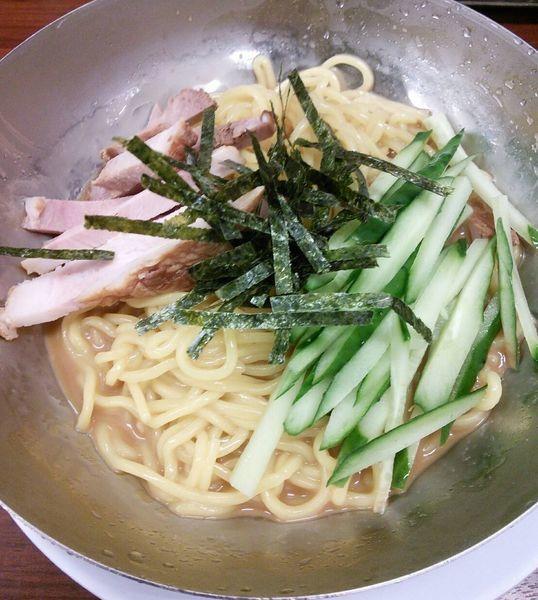 「【季節限定】冷麺 730円(税別)」@ラーメン魁力屋 弘明寺店の写真