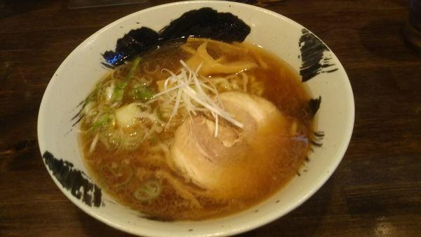 「しょうゆラーメン 650円」@麺や 玄の写真