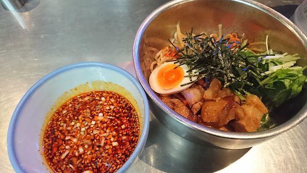 「辛露つけ麺(1382円)」@ZUND-BARの写真