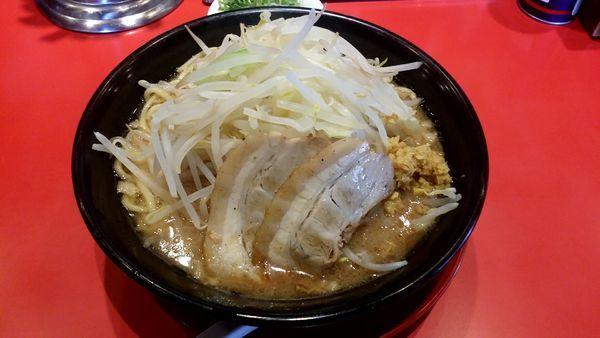「ジパング麺 734円 野菜350g」@ジパング軒の写真