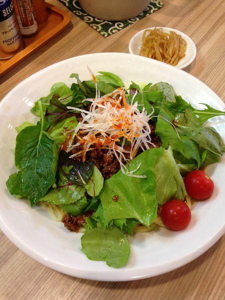 「冷やし担担麺(大) 850円」@麺や しし丸。の写真
