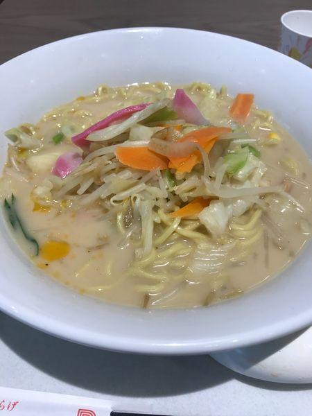 「長崎ちゃんぽん(麺2倍無料)」@リンガーハット イオンモールいわき小名浜店の写真