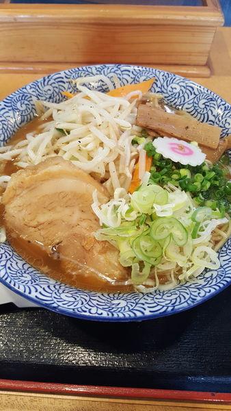 「野菜ラーメン中盛」@常勝軒 千葉本店の写真