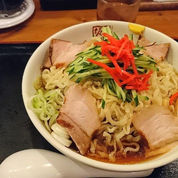 「冷やしラーメン(期間限定)」@喜多方 坂内食堂 京都店の写真