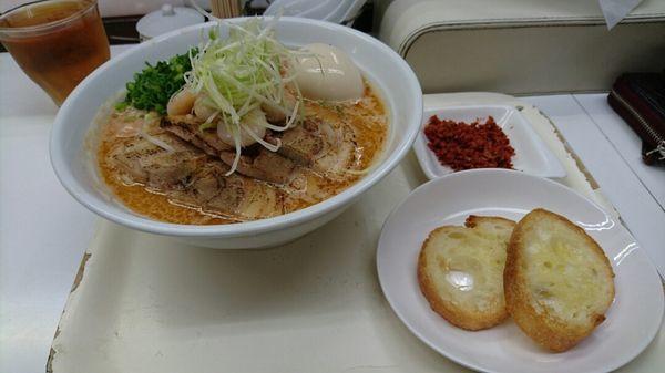 「特製海老塩麺 @1150円」@塩ラーメン・つけめんのお店 はないちの写真