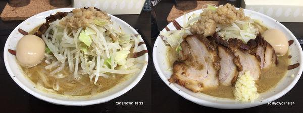 「つるやG麺中盛300g」@らー麺 つるやの写真