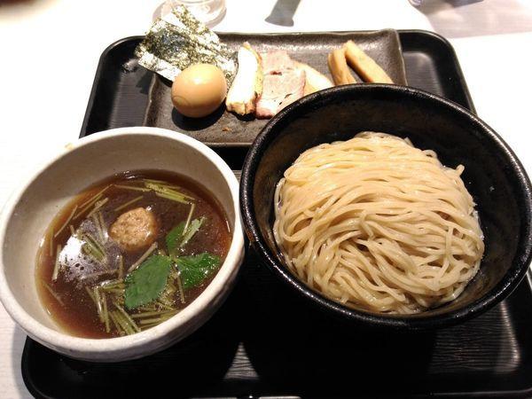 「あっさり淡麗特製煮干しつけ麺」@煮干し中華そば 一燈の写真