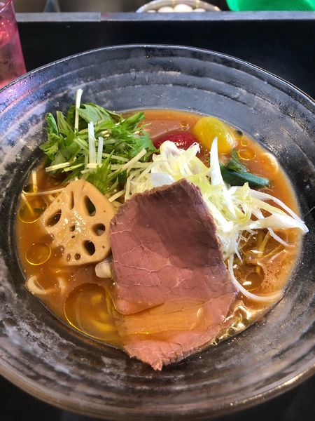 「限定 冷やし味噌らぁ麺〜白トリュフ風味仕立て〜」@みそ味専門マタドールの写真