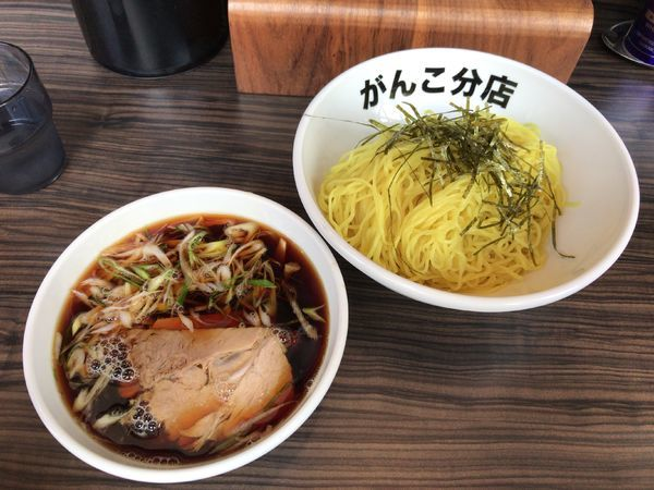 「和風正油つけ麺 2玉(1000円)」@元祖一条流がんこ 総本家分店の写真