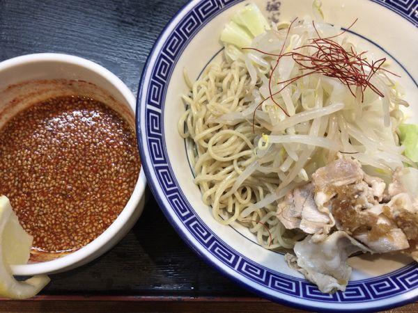 「広島つけ麺・大辛800円+税」@麺家 くさび 福島店の写真