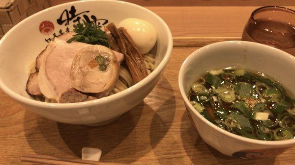 「ホロホロ南蛮きじつけ麺」@中華蕎麦 時雨の写真
