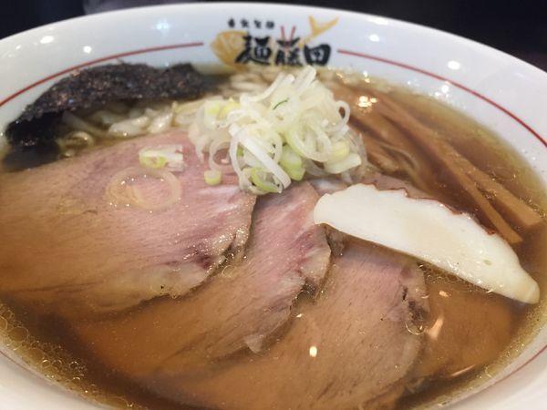 「肉トリトン中華そば」@麺藤田の写真