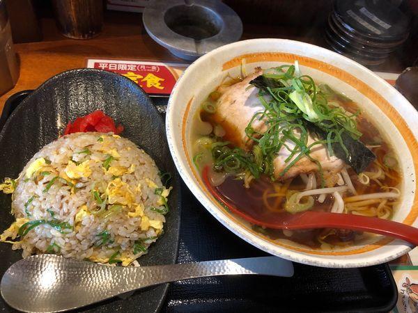 「八角定食」@らーめん八角 姫路御着店の写真