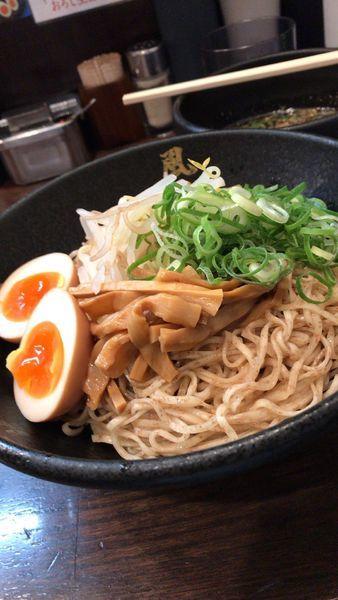 「冷やしつけ麺」@とんこつラーメン博多風龍 上野店の写真