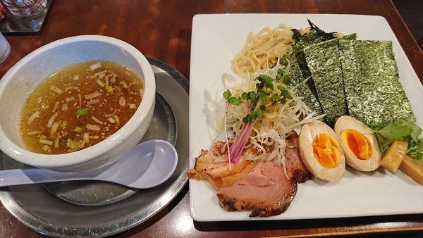「特製つけ麺(塩)1080円」@卓朗商店の写真
