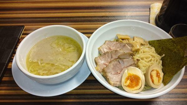 「濃厚煮干しつけ麺」@めん処 倖佳の写真