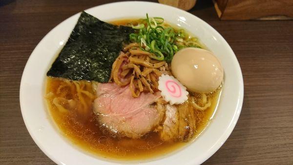 「醤油味玉ラーメン ¥880」@麺や 河野の写真