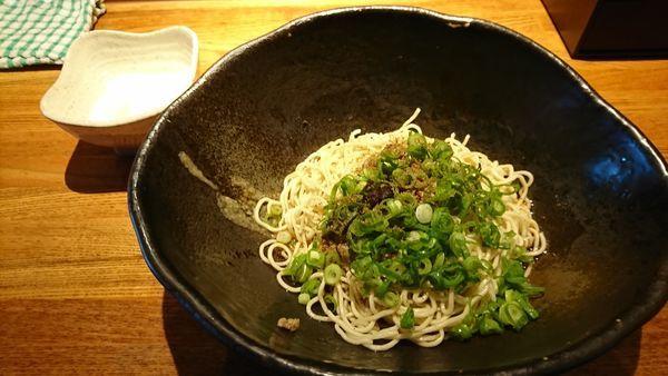 「汁なし担々麺 2辛¥580」@汁なし担担麺専門 キング軒 本通店の写真