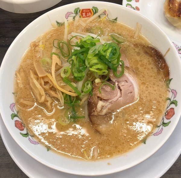 「ラーメン」@餃子の王将 四条大宮店の写真