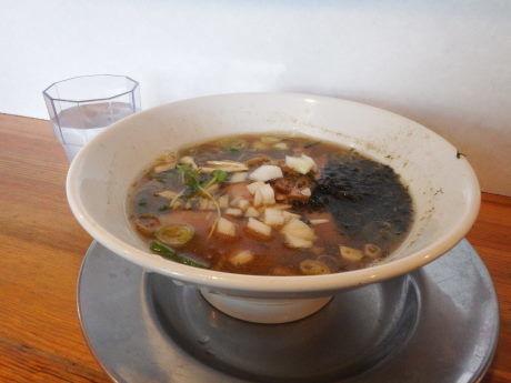 「煮干しらー麺 150g」@麺屋 たかの写真