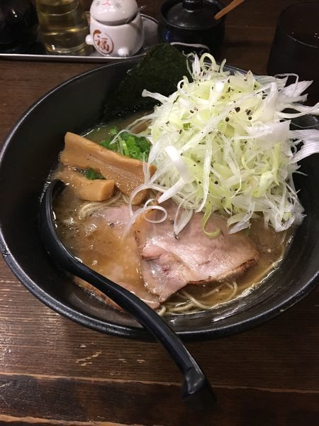 「ネギラーメン(濃厚醤油)」@中華そば うづまきの写真