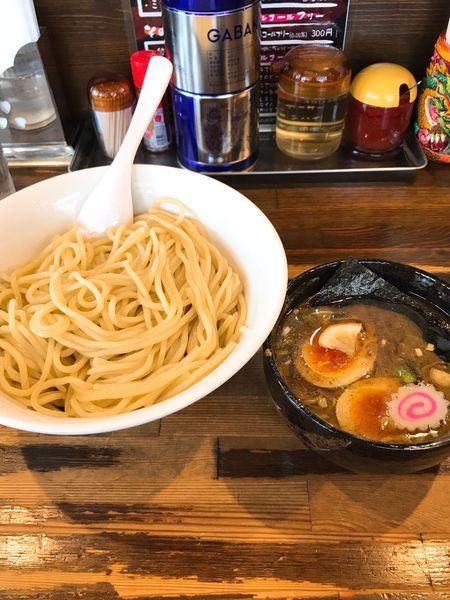 「特製つけ麺 大盛」@麺座でんの写真