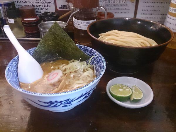 「すだちつけ麺(太麺)」@つけ麺 紅葉の写真