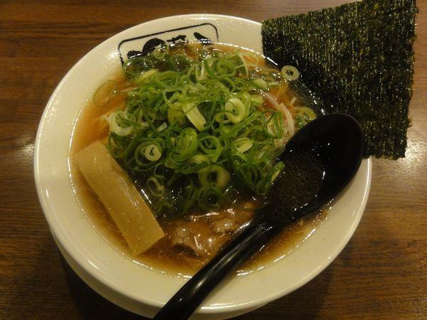 「醤油らぅめん」@京都らぅめん 凡蔵屋 洛西口店の写真