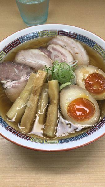 「特製煮干しラーメン」@煮干鰮らーめん 圓の写真