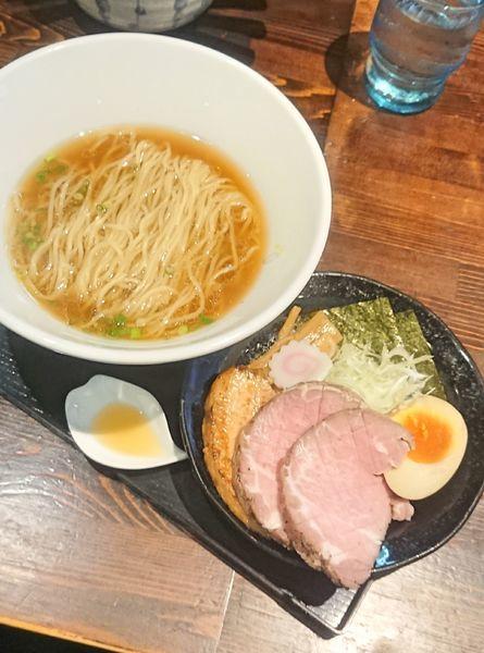 「カムイ・シオユ+ チャーシュー増し」@麺や 蒼 AOIの写真