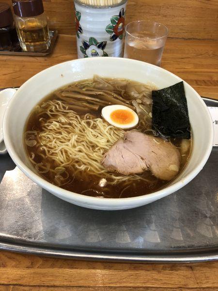 「ワンタン麺」@大勝軒 昭島店の写真