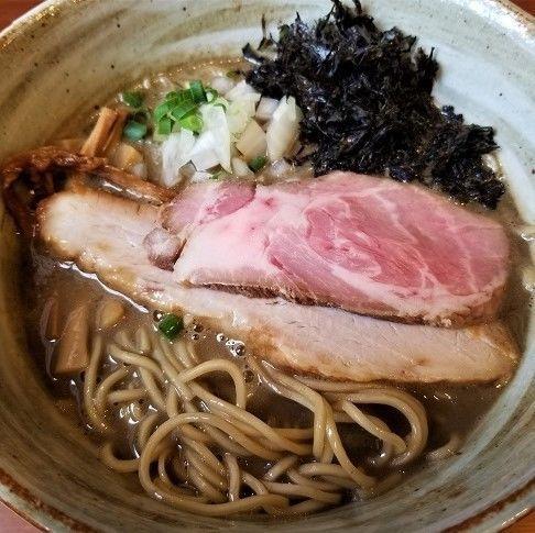 「濃厚煮干し ¥850」@麺屋 照の坊の写真