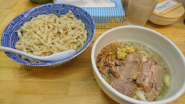 「塩つけ麺(中・生姜)」@らーめん きじとらの写真