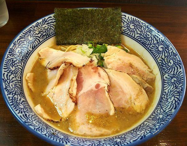 「濃厚炙り肉6&和え玉」@煮干し中華蕎麦 山崎の写真
