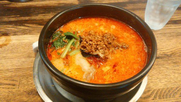 「特製担々麺ちょい辛」@麺・飯場 たんやの写真