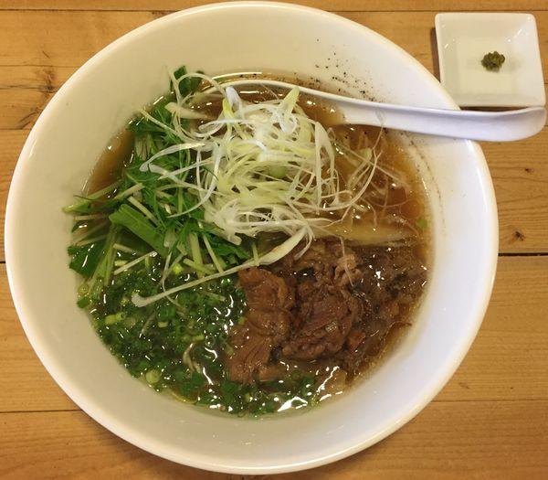 「牛骨麺850円」@麺屋 西川の写真